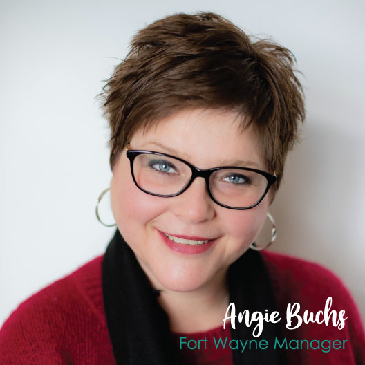 Welcome Angie Buchs